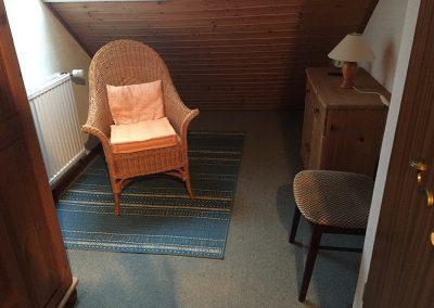 Spitzboden/Schlafzimmer Vorher