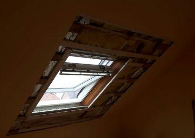 Verkleiden eines Veluxfensters