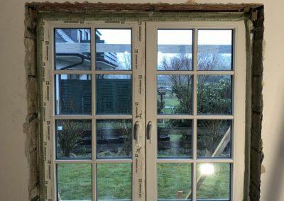 Fenstermontage 3-fach verglast